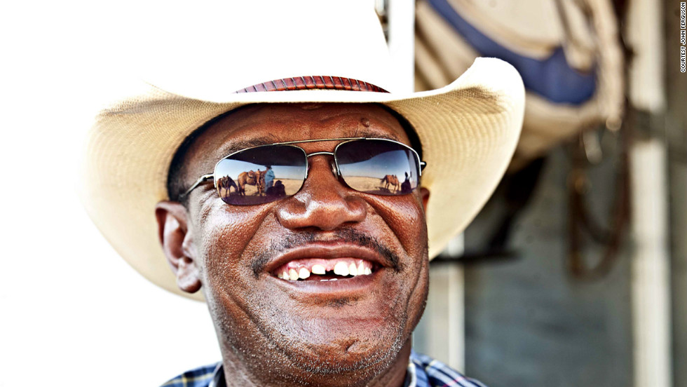 """The more I look into it, the more amazed I am by the history of the black cowboys,"" says Ferguson."