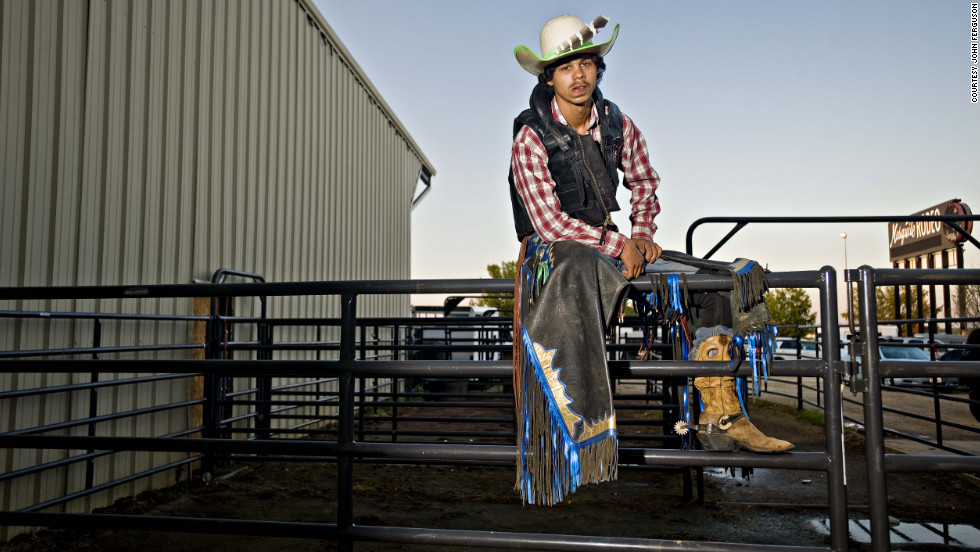"""80 per cent of Americans do not know about the black cowboys. I just want to highlight the black cowboy story."""