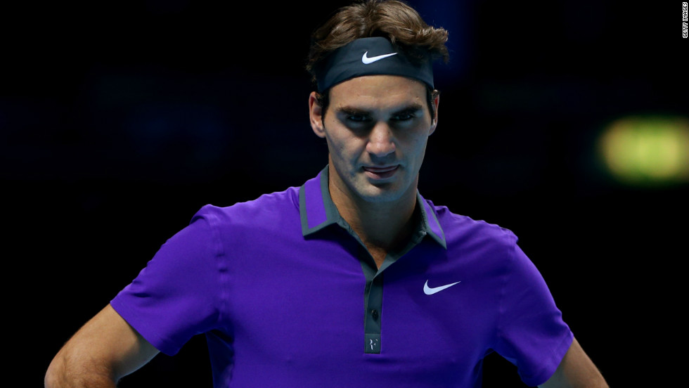 Two-time defending champion Federer was disappointed to lose, despite having already secured a place in the last four of a tournament that he has won a record six times.