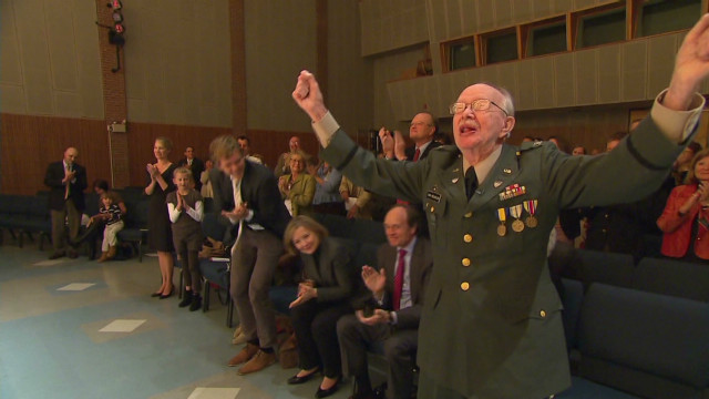 World War II vet realizes a dream