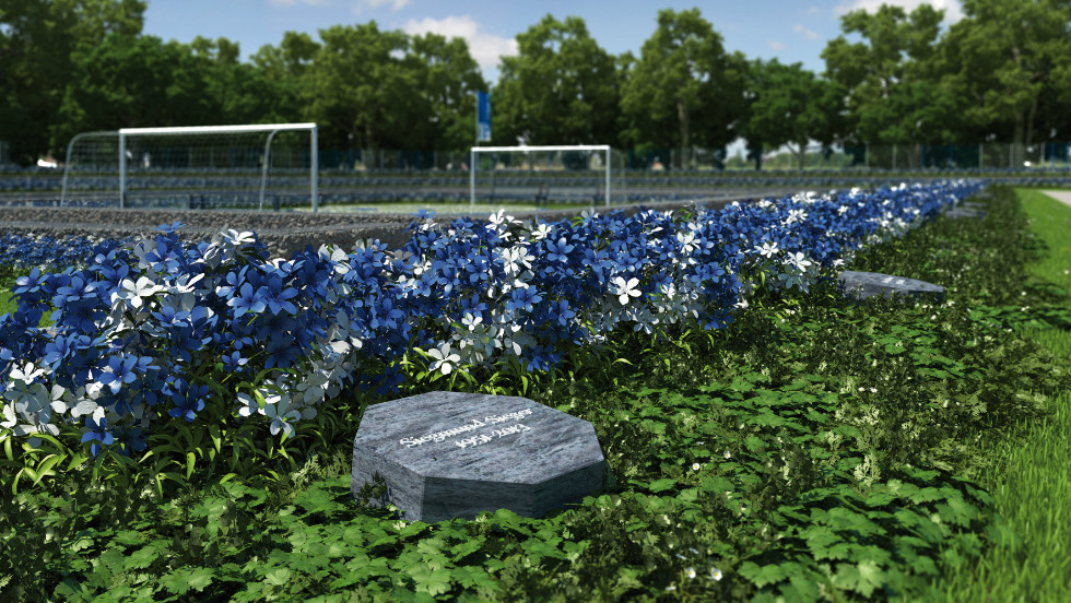 The cemetery will only have space for 1,904 graves -- reflecting the year of Schalke's foundation -- and the club says there will not be another site when the entire allocation is taken up.