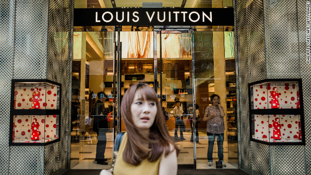 Chinese consumers are poised to overtake Americans this year as the biggest buyers of luxury goods in the world.