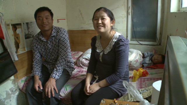China's migrants struggle