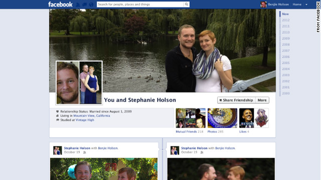 Facebook's new relationship pages started rolling out on Thursday, the company says.