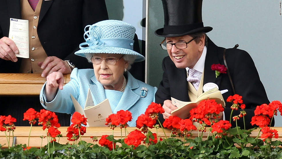 """The Queen is renowned for naming her horses sensible, cleverly constructed words,"" says BBC commentator Lysaght."