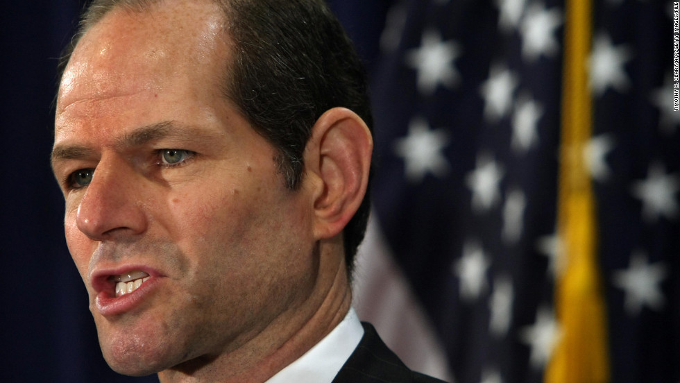 "Eliot Spitzer earned a squeaky clean image as the attorney general of New York who took on Wall Street corruption from 1999 to 2006. From there, he moved to the governor's mansion in Albany in 2007. But the Democrat was stopped in his political tracks when his liaisons with high-paid prostitute Ashley Dupre surfaced, and he stepped down as governor in March 2008. He briefly went on to anchor and now hosts ""Viewpoint'"" on Current TV. He is still married to Silda Wall Spitzer."