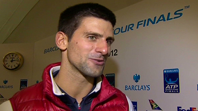 Djokovic beats Federer in  ATP final