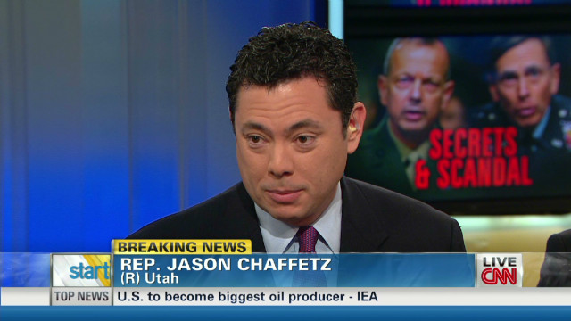 Rep. Chaffetz: Petraeus should testify