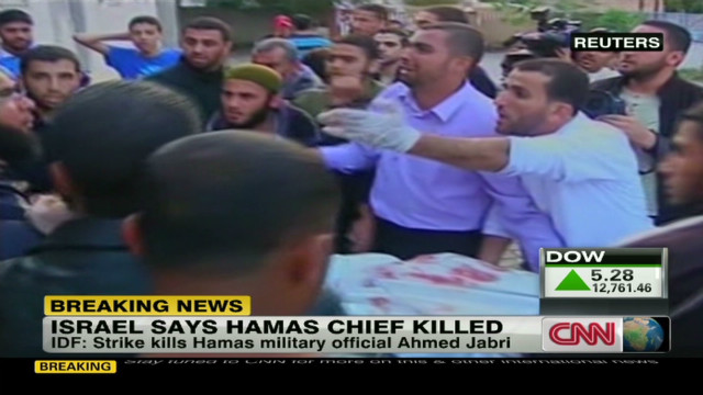 Hamas chief killed