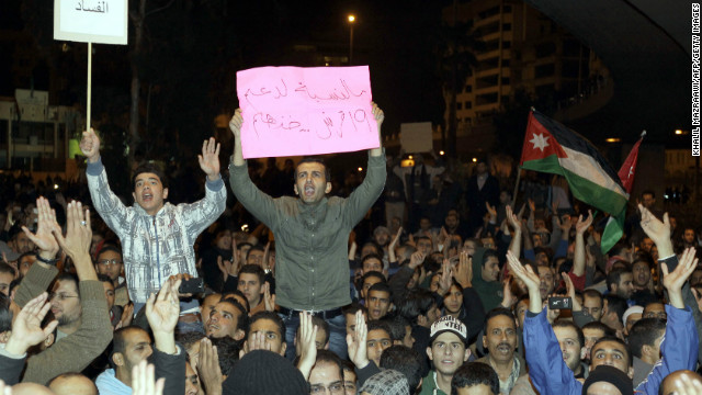 Jordanians protest high fuel prices