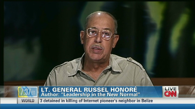 Gen. Honoré on Hurricane Sandy recovery
