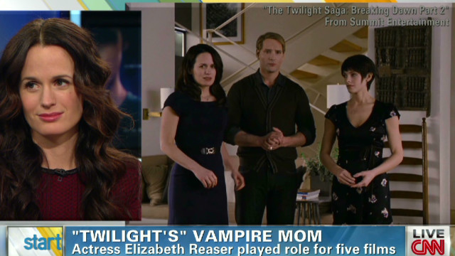 Elizabeth Reaser on new 'Twilight' film