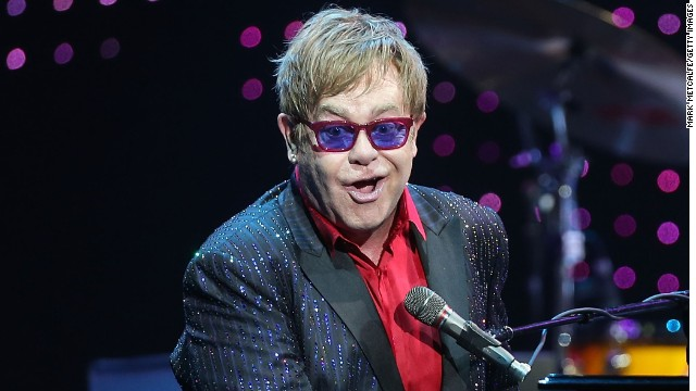 "No, Elton John didn't sing, ""Hold me closer, Tony Danza."""