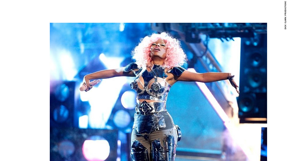 "Nicki Minaj Performed ""Turn Me On"" and ""Super Bass"" 2011. Minaj and Rihanna this year each have four individual nominations. The show will be broadcast on ABC."