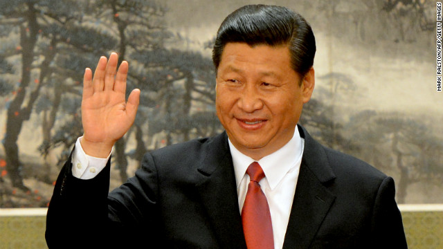China's new leader Xi Jinping at the Great Hall of the People on November 15, in Beijing, China.