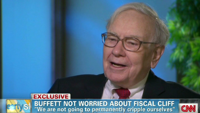 Buffett not worried about fiscal cliff