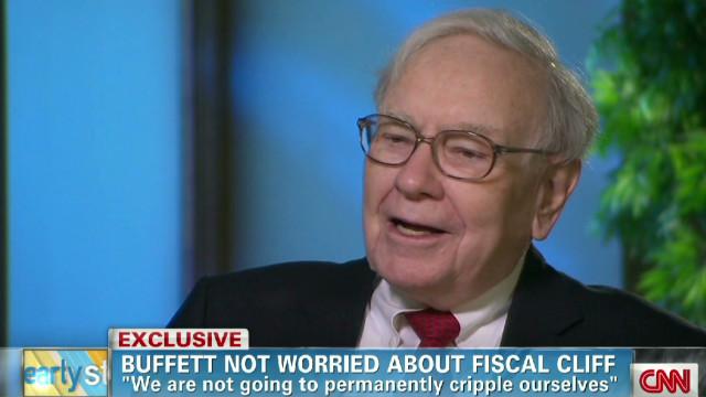 Buffett not worried about fiscal cliff