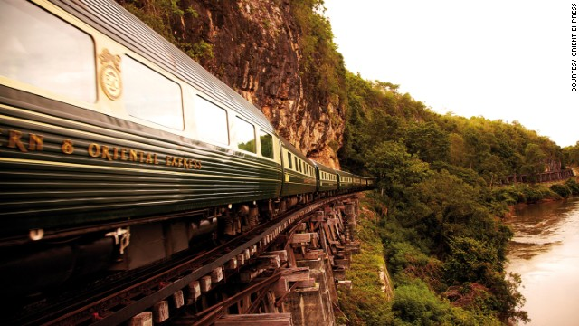 Theroux did it in the '70s, but train trips across Asia still hold romantic appeal.