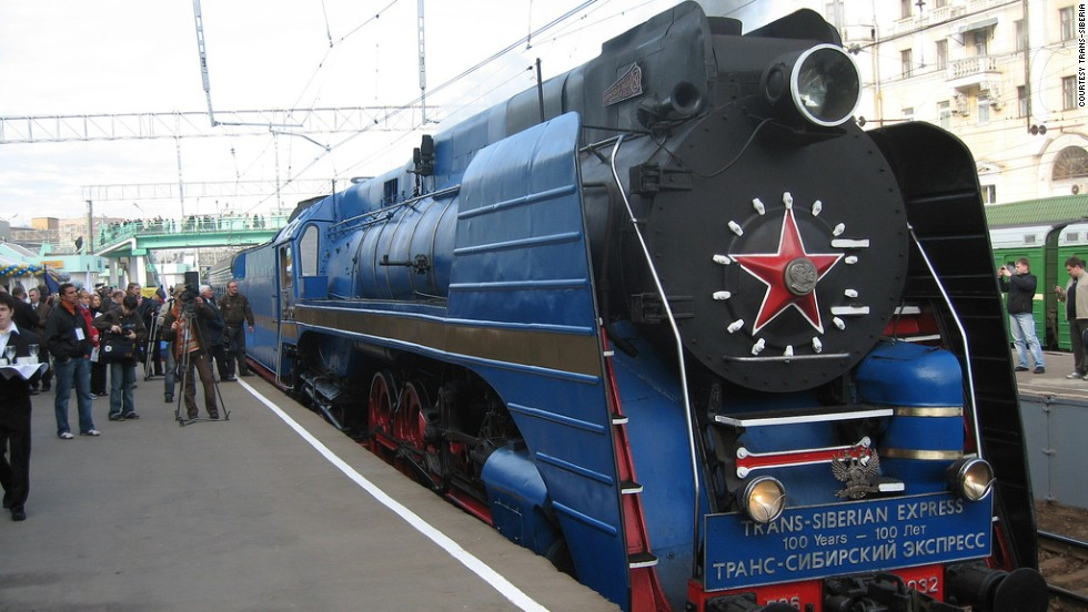 This Trans-Siberian trip covers 6,000 miles and eight time zones in its race across the East.