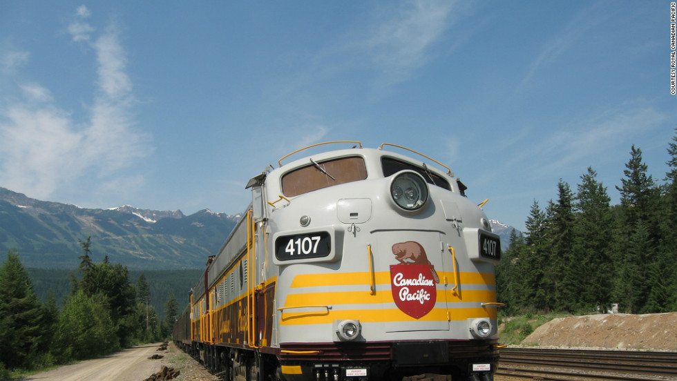 A six-day trip aboard the Royal Canadian Pacific includes a spectacular near-vertical climb in the mountains.