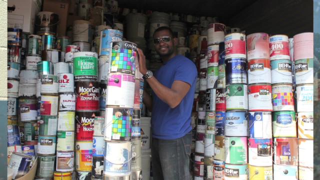 Recycled paint rehabilitates communities