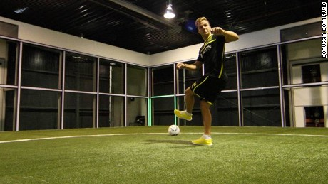Enter Hoffenheim's 'Footbonaut,' the soccer skill machine
