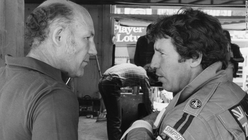 """Vettel is making the most of the best design in F1,"" added  Andretti.who is one of only two American drivers to have won the Formula One title. Here Andretti (R)  is seen talking to Stirling Moss, during the championship winning season in 1978."