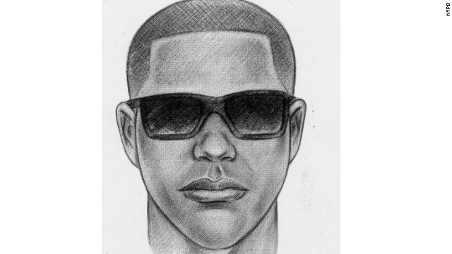 New York Police Department sketch of the suspect