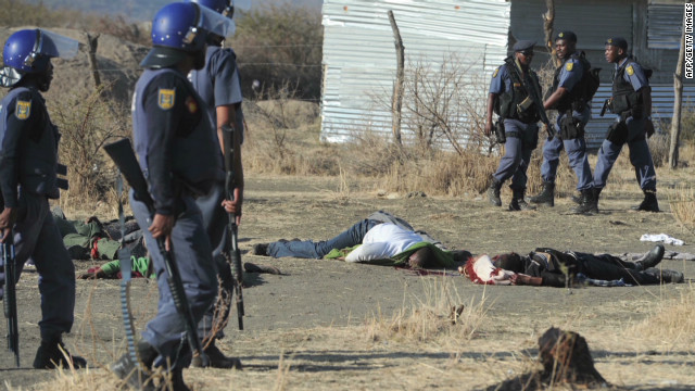 Examining the Marikana massacre