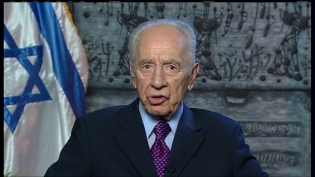 Peres: 'Stop shooting, start talking'