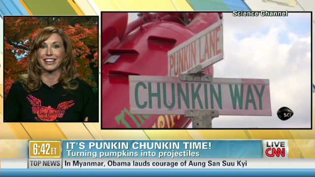 The science behind punkin chunkin