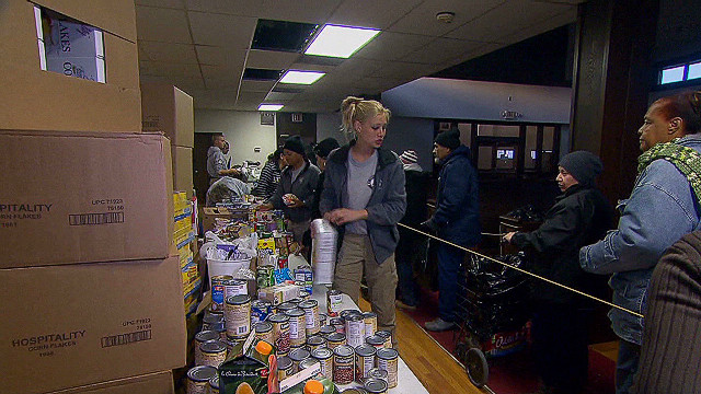Churches lead Sandy relief efforts