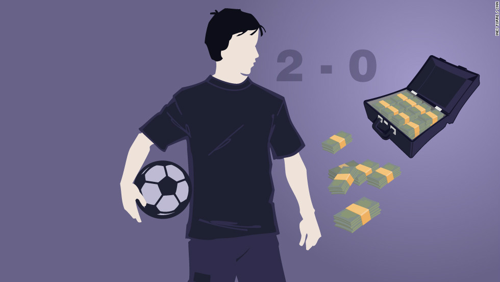 The Secret Footballer says in the early days of in-play betting players used to make money by manipulating elements of the match such as who would win the first throw in.
