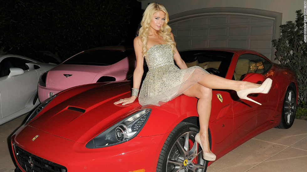 Paris Hilton, photographed here at a party at her private residence in Los Angeles last December, tweeted about the opening of her store in Mecca in November.