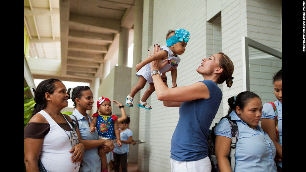 Escobar said the only way to ensure the long-term health of the children is to empower the teen mothers so they can break the cycle of poverty.