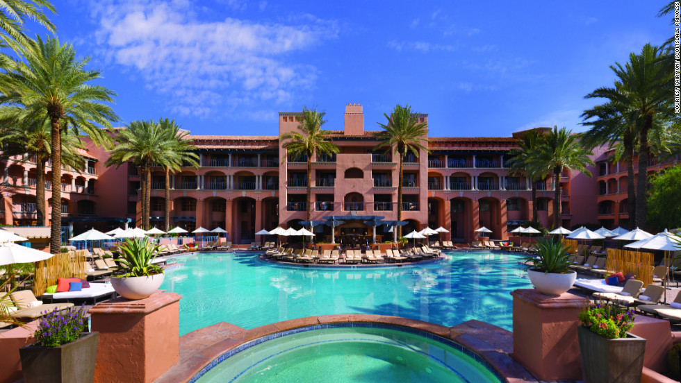 Save 50 percent at the Fairmont Scottsdale Princess on three-night minimum stays through December 30.