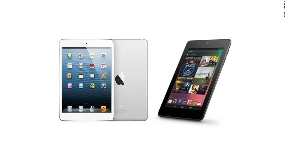 Ten-inch tablets are so last year. In 2012, the hottest-selling tablets were ultra-portable 7-inch models such as the Kindle Fire, the Nexus 7 and Apple's new iPad Mini.