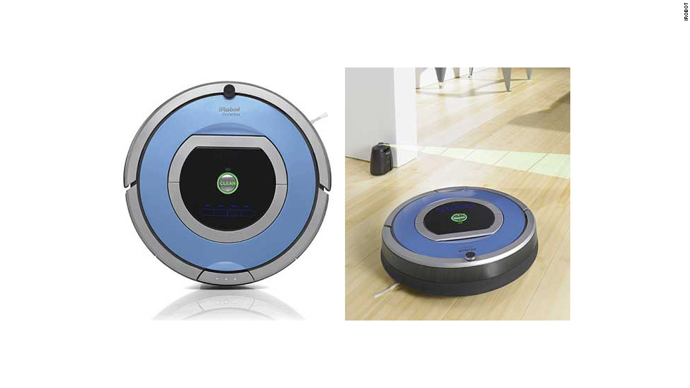 "Cleaning your floor isn't fun -- unless you have a smart floor-cleaning robot that you can control with a remote while sipping a cocktail. <a href=""http://www.irobot.com/us/robots/home/roomba.aspx"" target=""_blank"">Roombas</a> are pricey, from $350 up to $700, but they know exactly where to clean and even go under the bed without complaining (except sometimes <a href=""https://twitter.com/SelfAwareROOMBA"" target=""_blank"">on Twitter</a>)."