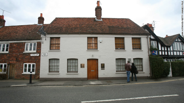 Heston Blumenthal's Fat Duck restaurant, in Bray, England, has garnered three Michelin stars.