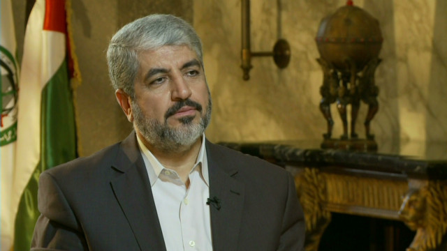 Hamas political chief on cease-fire