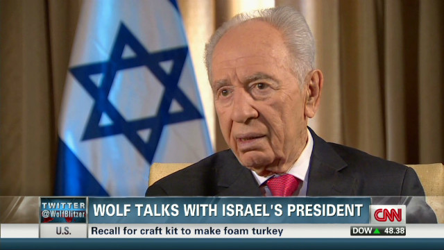 Peres: Iran is competing with Egypt
