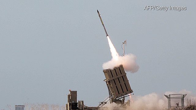 Eyes on Israel's missile defense system