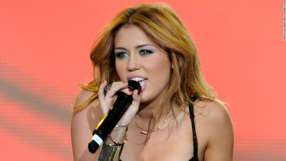 Cyrus stole the show with her costume when she took the stage at the Rock in Rio Madrid Festival in June 2010.
