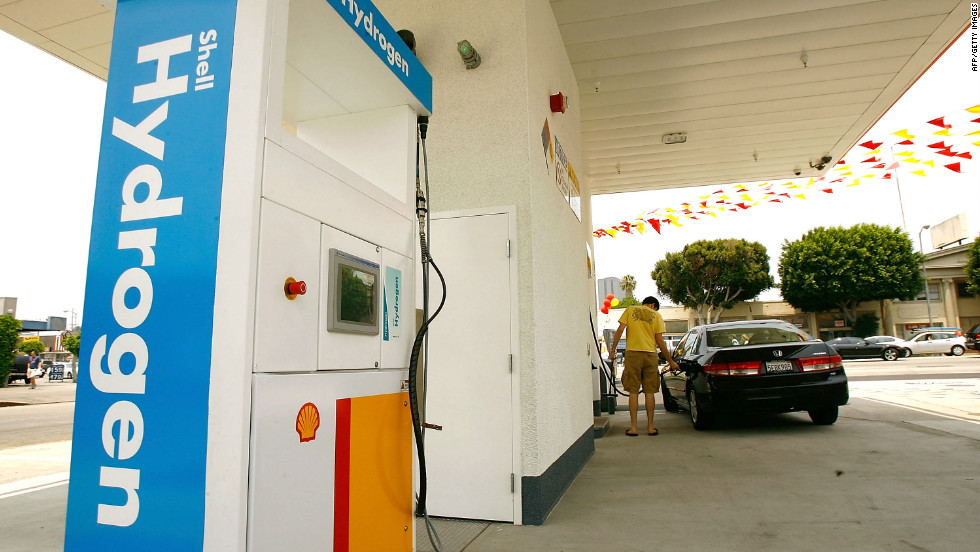 The high cost of creating a network of hydrogen refuelling stations is one problem facing the wider adoption of fuel-cell cars.