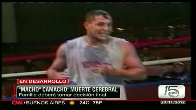 """Lo último sobre """"El Macho"""" Camacho"""