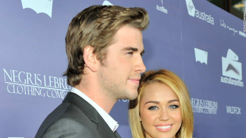 "After plenty of rumors, <a href=""http://www.cnn.com/2007/SHOWBIZ/TV/10/12/montana.tickets/"" target=""_blank"">it was confirmed in June 2012</a> that Cyrus and Hemsworth were engaged."