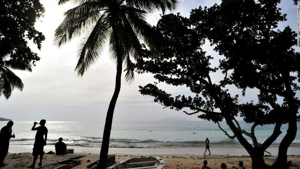 Peace and quiet can be found on Victoria, Seychelles, which also has a beautiful beachfront.