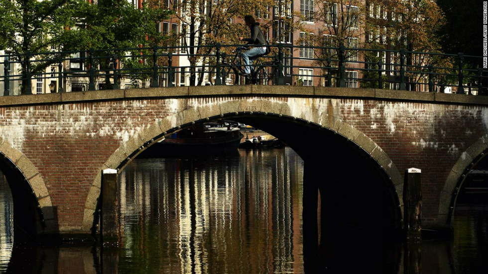 Amsterdam offers romance and decadence for grownups.