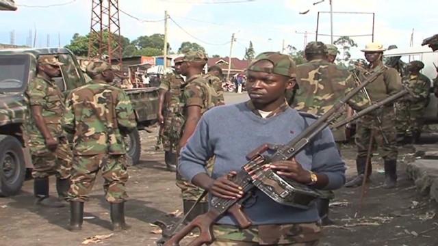 Rebels advancing in Congo
