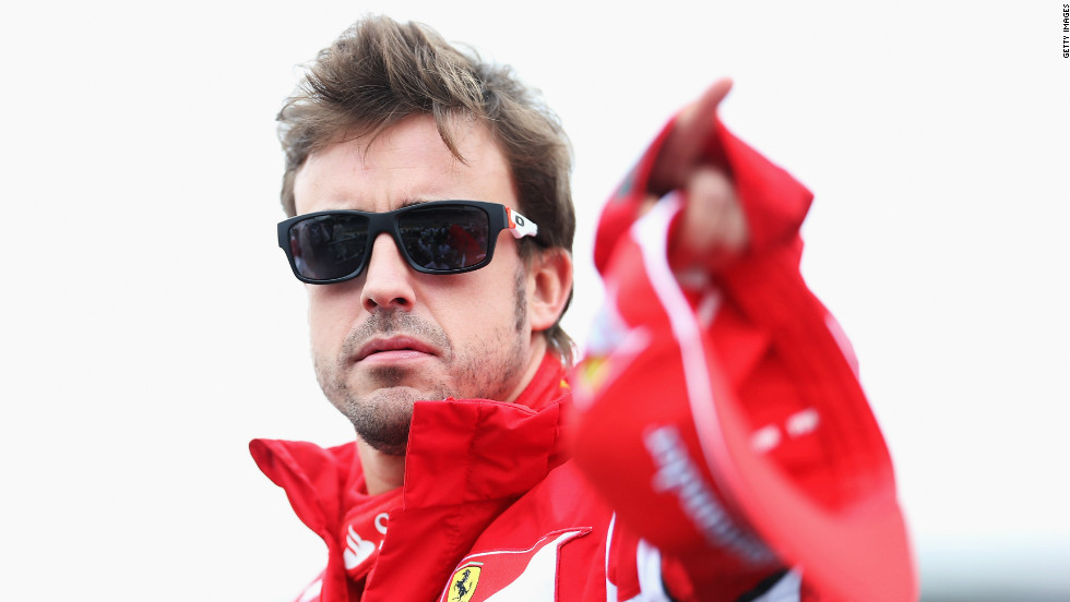 Fernando Alonso was looking cool and relaxed before heading into battle at Interlagos. The Ferrari driver, who started the day 13 points adrift of championship leader and title rival Vettel, qualified in eighth before being upgraded to seventh following the 10-place grid penalty meted out to Williams' Pastor Maldonado. <br />